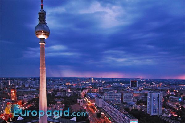 телебашня в Берлине цена билетов