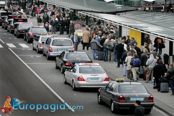 телефоны такси в Амстердаме