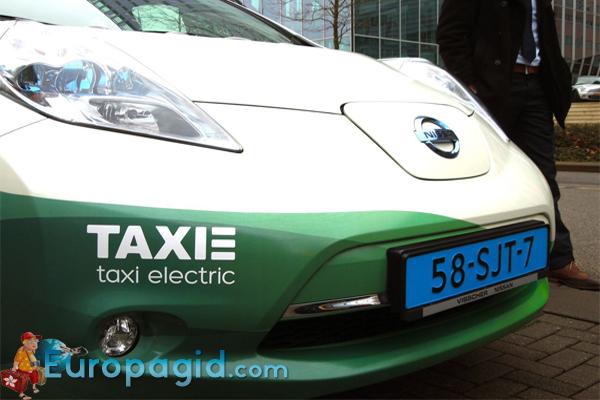 цена такси в Амстердаме