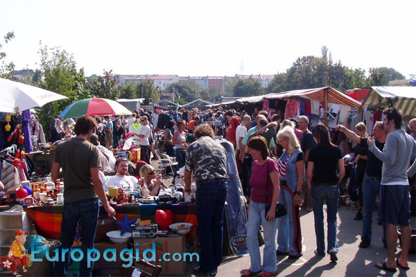 Markt in Mauerpark