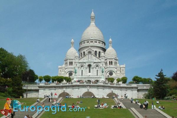 Базилика Сакре-Кёр церковь в Париже