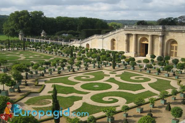 Версаль Парижа самостоятельно