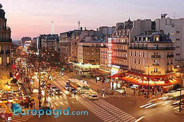 Монпарнас район Парижа