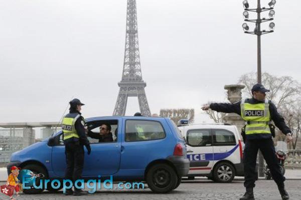 Прокат авто в Париже правила