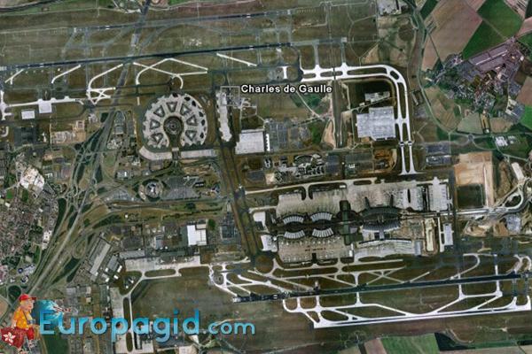 Сервис в аэропорту Шарля де Голля