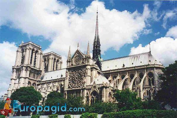 Собор Парижской Богоматери цена билетов