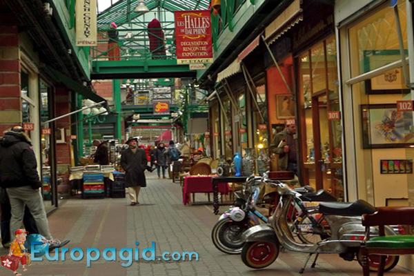 блошиные рынки Парижа для всей семьи