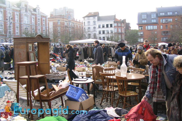 блошиные рынки Парижа как добраться