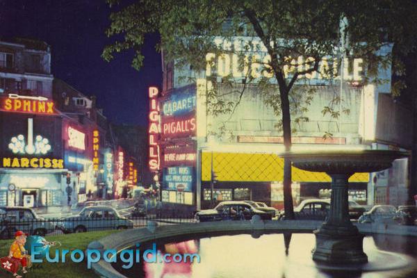как добраться в квартал Монмарт Парижа