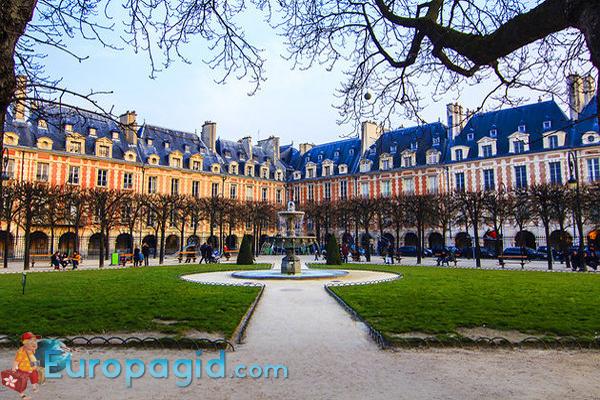квартал Марэ в Париже как добраться