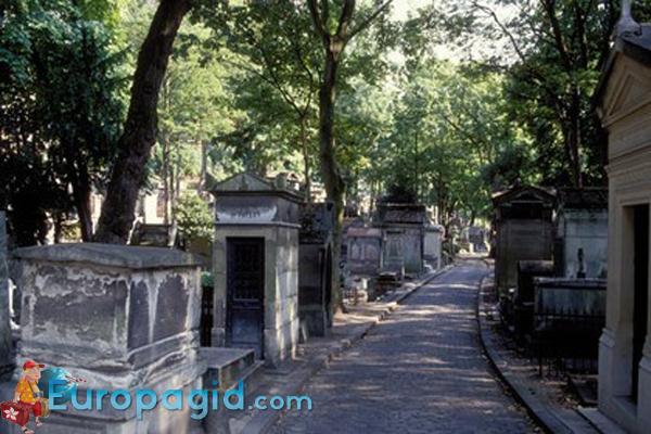 кладбище Пер-Лашез время работы