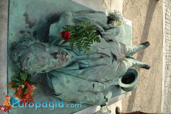 кладбище Пер-Лашез для прогулки