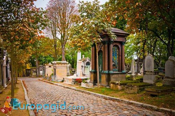 кладбище Пер-Лашез как добраться