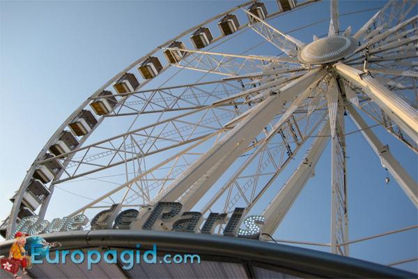 колесо обозрения в Париже время работы