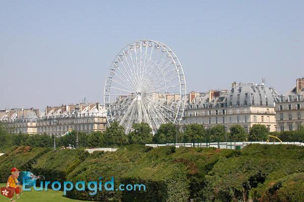 колесо обозрения цена билетов в Париже