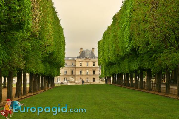 люксембургский сад в Париже время работы