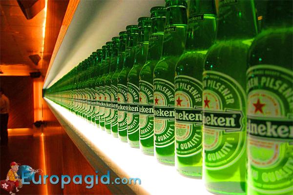 музей пива в Амстердаме
