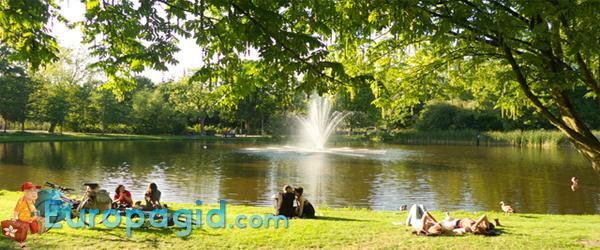 центральный парк Амстердама