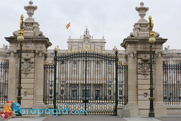 Королевский дворец в Мадриде для всех