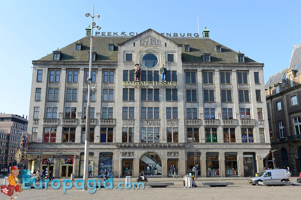 Музей восковых фигур мадам Тюссо в Амстердаме для всех