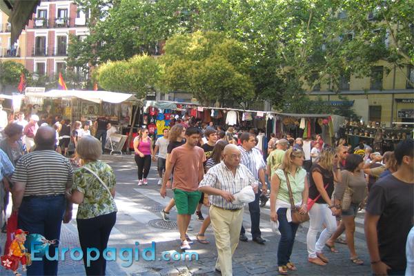 блошиный рынок Эль Растро в Мадриде для вас