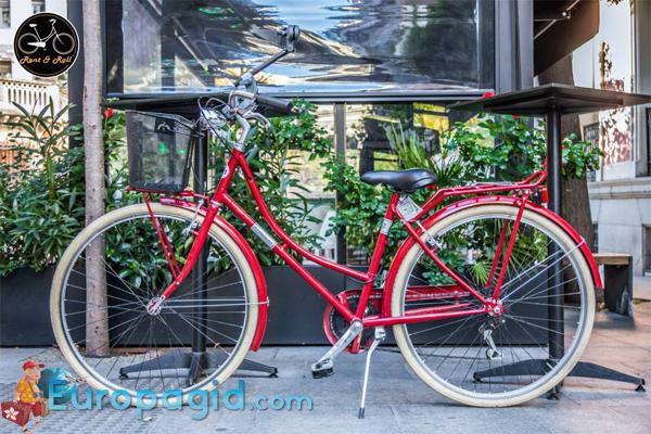 велосипеды в Мадриде