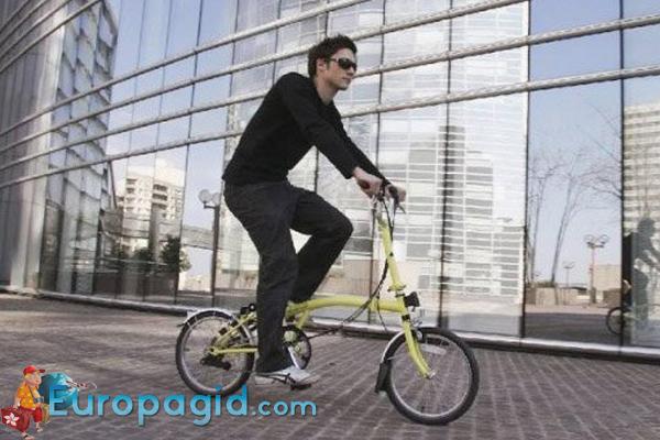 где арендовать велосипед в Мадриде