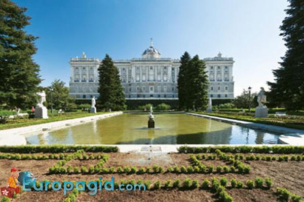 дворец Palacio Real  в Мадриде для вас