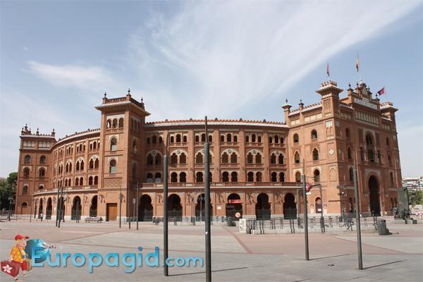 как добраться к арене для быков в Мадриде