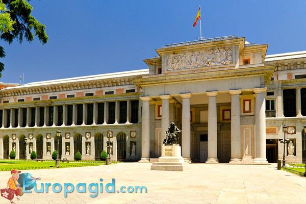 музей Prado в Мадриде как добраться