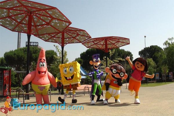 парк Casa de Campo для детей
