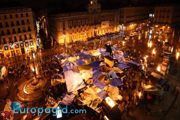 площадь Пуэрта-дель-Соль в Мадриде для вас