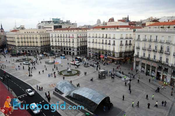 площадь Puerta del Sol как добраться