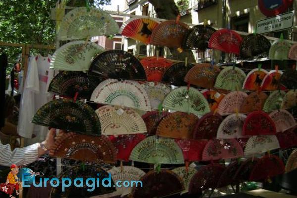 рынок Эль Растро в Мадриде для всех