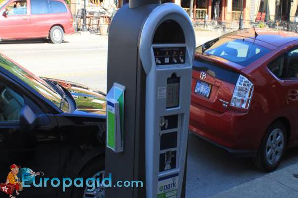 стоимость парковки в Мадриде