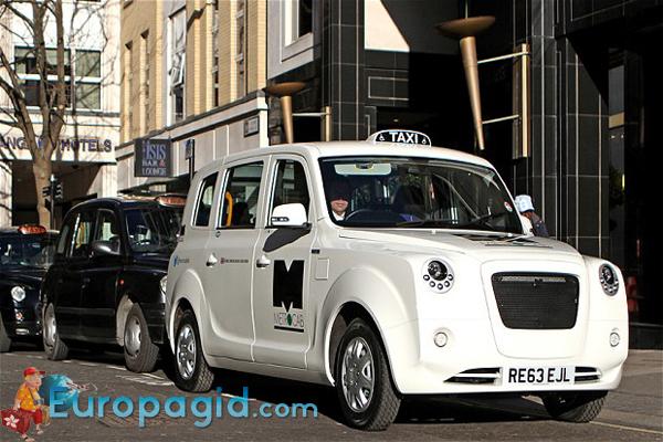 такси в Лондоне стоимость