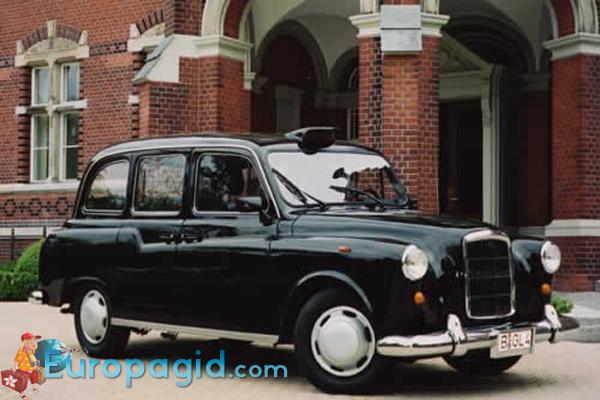 такси в Лондоне цена