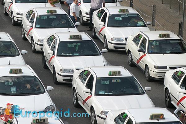 такси в Мадриде для всех