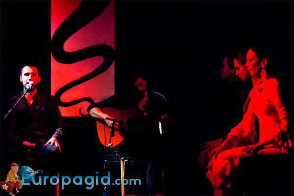цена билета на посещение фламенко в Мадриде