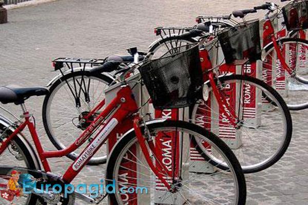 Аренда велосипедов в Риме для всех