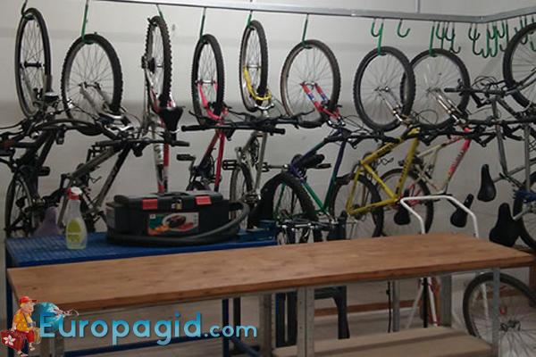 Аренда велосипедов в Риме