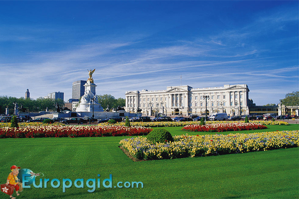 Букингемский дворец в Лондоне для вас