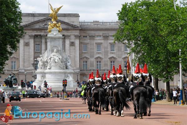 Букингемский дворец в Лондоне для всех