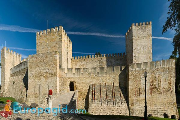 Замок Святого Георгия в Лиссабоне для вас