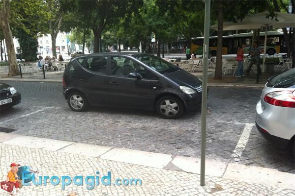 Парковка в Лиссабоне для всех