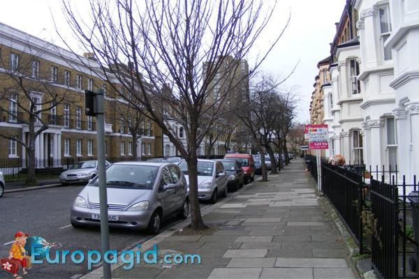 Парковки в Лондоне для всех