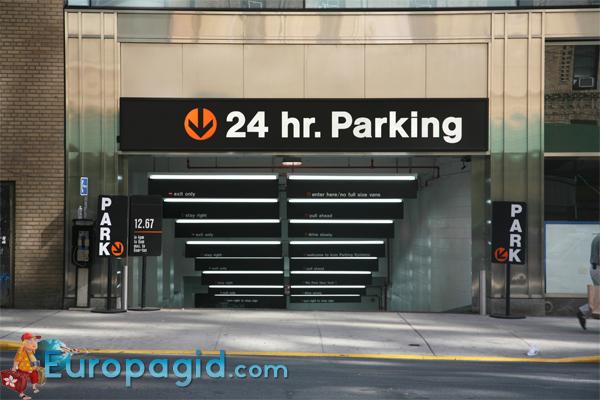 Правила парковки в Лондоне
