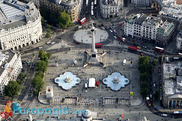 Трафальгарская площадь в Лондоне для вас