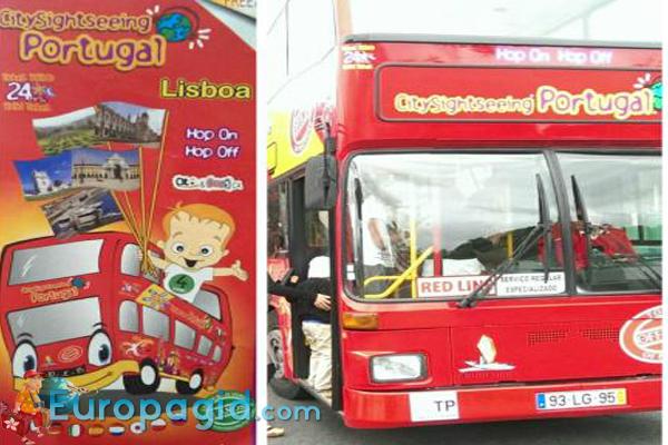 Туристические  автобусы в Лиссабоне для всех