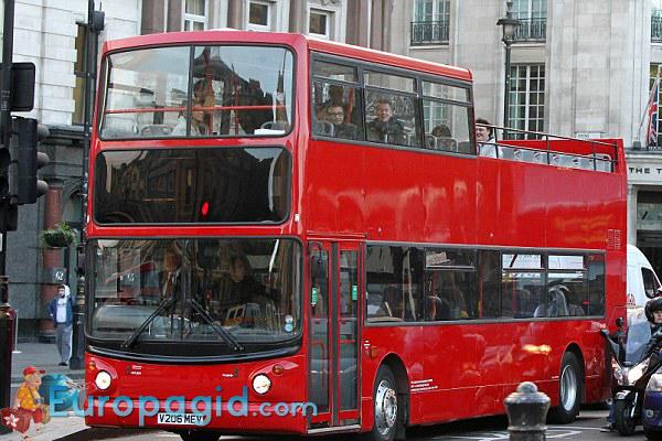 Туристический автобус в Лондоне для вас